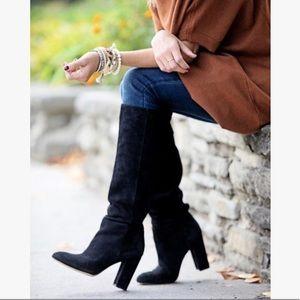 Sam Edelman Caprice Suede knee-High boots